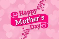 Mother's day Cartaz template