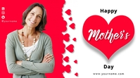 Mother's Day Digitalt display (16:9) template