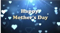 mother's day Tampilan Digital (16:9) template