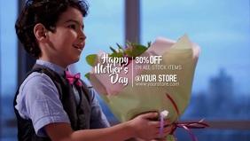 Mother's day Facebook 封面视频 (16:9) template