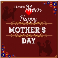 Mother's day Logo template