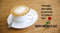 Mother's Day Publicación de Twitter template
