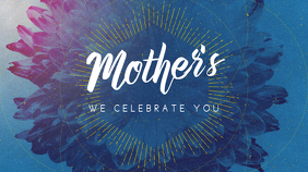 Mother's Day Digital Display (16:9) template