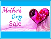 mother's day Flyer (US-Letter) template