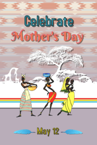 Mother's Day/Dia de las Madres/Ethic/African