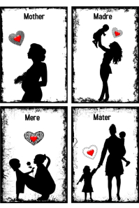 Mother's Day/ Dia de las madres/ mujer