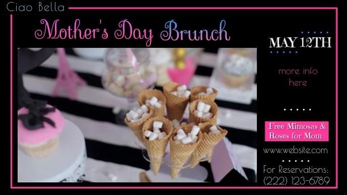 Mother's Day Digital Brunch Ad