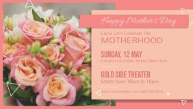 Mother's Day Event Facebook Cover Video
