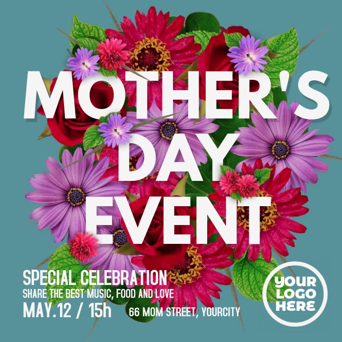 Mother's Day Event Flyer