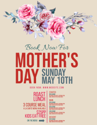 Mother's day Event Flyer template