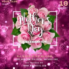 Mother's day Event template Quadrado (1:1)