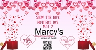 Mother's Day Facebook Ad Size Advert Template