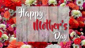 Mother's Day Facebook Cover Template Ikhava Yevidiyo ye-Facebook (16:9)
