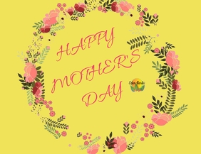 Mother's Day Fan Design