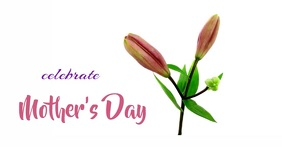 Mother's Day FB animation Cover ng Facebook Event template