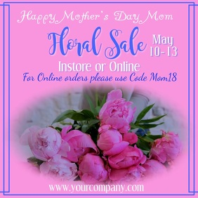 Mother's Day Floral Sale Video