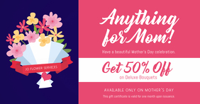 Mother's Day Floral Services Discount Voucher