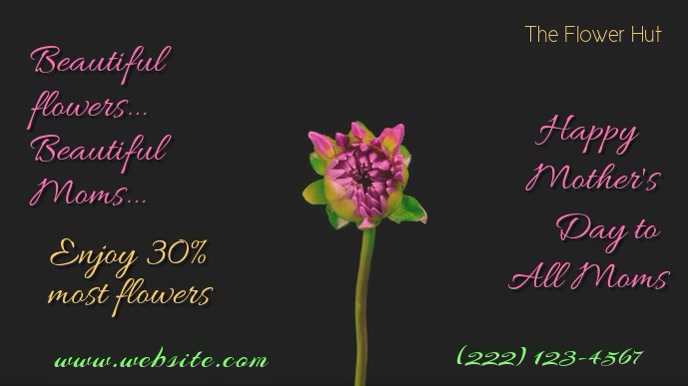 Mother's Day Flowers Digital AD