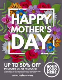Mother's Day Flowers Sale Flyer