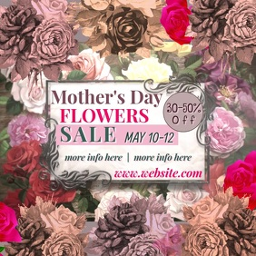 Mother's Day Flowers Sale Video
