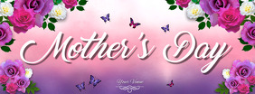 Mother's Day Flyer, Happy Mother's Day, Mother's Day Brunch Facebook Cover Photo template