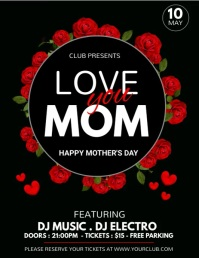 Mother's Day Flyer, Happy Mother's Day