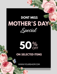 Mother's Day Flyer, Mother's Day Brunch