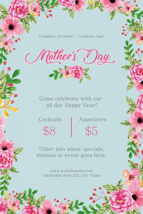 Mother's Day Happy Hour