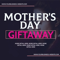 MOTHER'S DAY INSTAGRAM GIVEAWAY TEMPLATE Square (1:1)