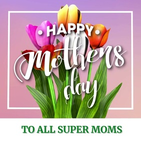 Mother's Day Instagram Template Design Instagram-bericht