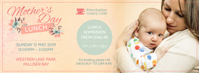 Mother's Day Lunch Offer Facebook Cover Photo