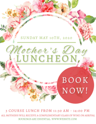 Mother's day Luncheon Event Template