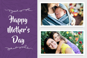 Mother's Day Photo Collage Wish Card