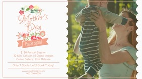 Mother's Day Photography Ad Digital Display Video