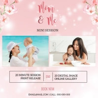 Mother's day Photography Mini Session Instagram Post template