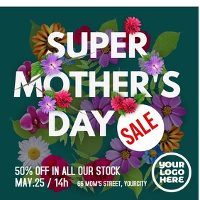 Mother's Day Sale Ad