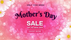 mother's day sale Facebook Cover Video (16:9) template