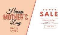 Mother's Day Sale Merker template