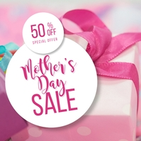 Mother's Day Sale Message Instagram template