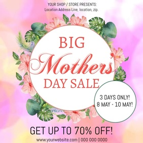 Mother's Day Sale Event Flyer