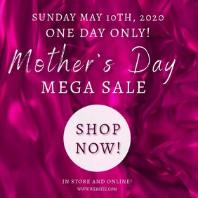 Mother's day SALE Event Template