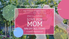 Mother's Day Sale Facebook Cover Video