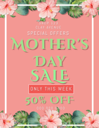 Mother's Day Sale Flyer