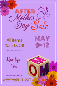 Mother's Day Sale Poster