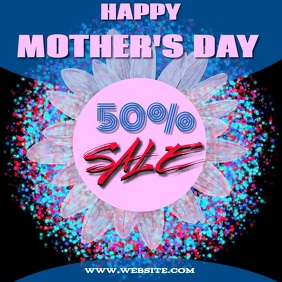 MOTHER'S DAY SALE TEMPLATE COLORFUL