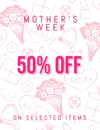 mother's day sale template