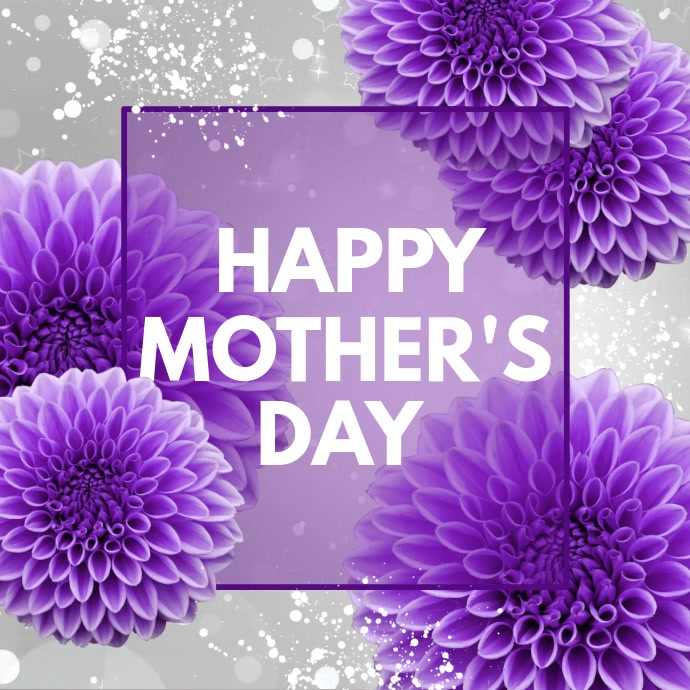 Mother's Day Sale Video, Mother's Day Video, Square (1:1) template