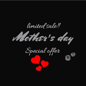 mother's day sale video template
