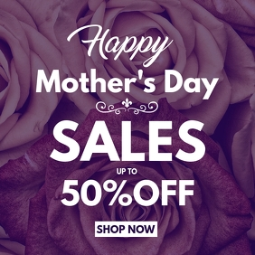 Mother's day sales instagram post advertiseme