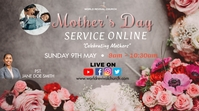 Mother's day service Digital Display (16:9) template